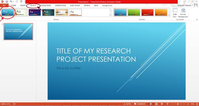 Easy Steps To Preparing Powerpoint Slides For Your Research